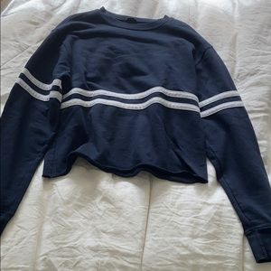 Brandy Melville navy blue sweatshirt